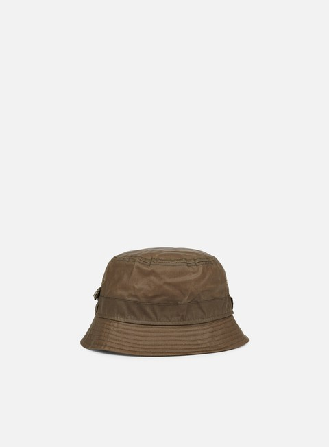 cappellini new era british millerain bucket hat khaki