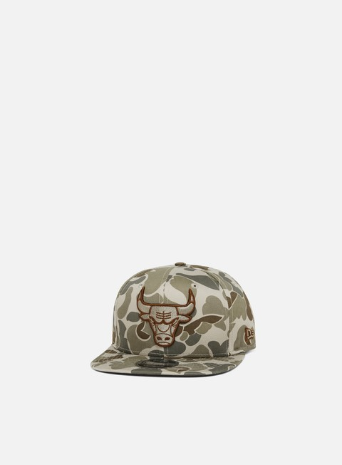 New Era Camo 9Fifty Snapback Chicago Bulls