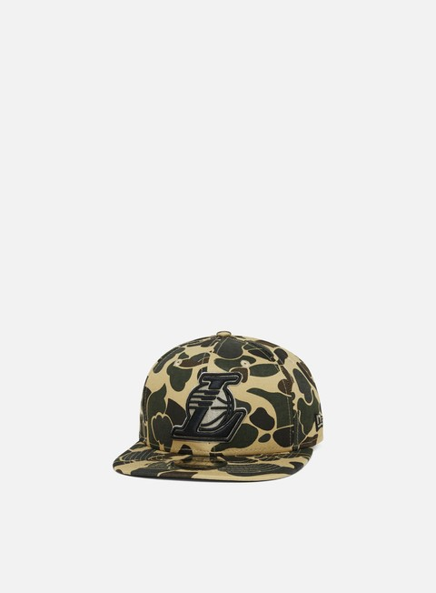 Outlet e Saldi Cappellini Snapback New Era Camo 9Fifty Snapback LA Lakers