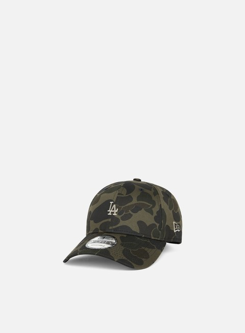Curved Brim Caps New Era Camo 9Forty Strapback LA Dodgers