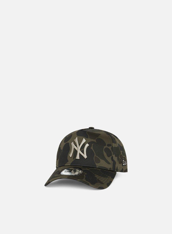 406c731d46a NEW ERA Camo A Frame Snapback NY Yankees € 14 Curved Brim Caps ...