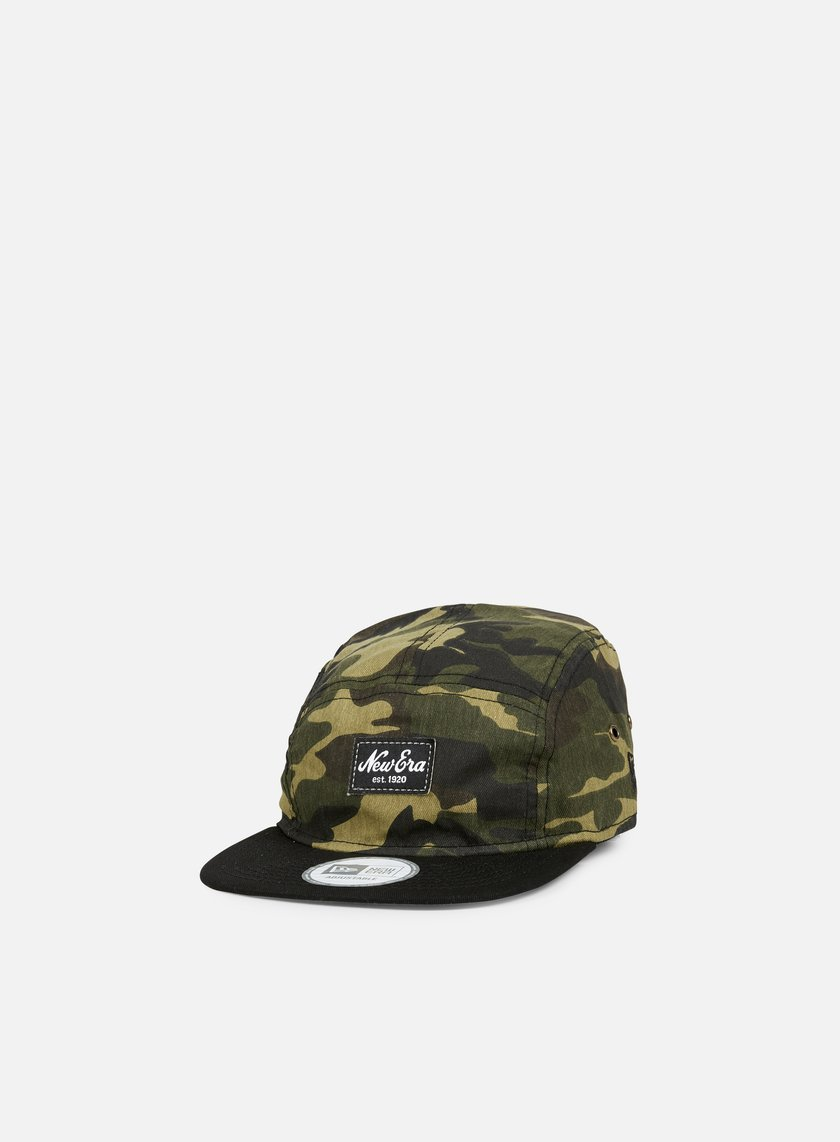 New Era - Camo Camper, Woodland Camo/Black