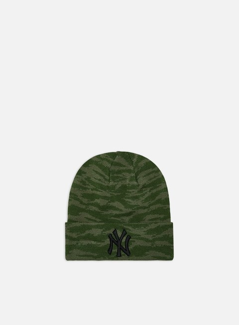 Cuffie New Era Camo Cuff Knit Beanie NY Yankees