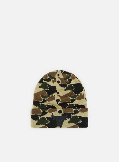 Cuffie New Era Camo Cuff Knit Chicago Bulls
