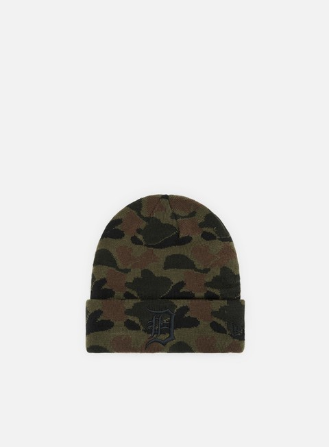 Outlet e Saldi Cuffie New Era Camo Cuff Knit Detroit Tigers