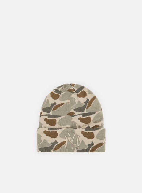 Outlet e Saldi Cuffie New Era Camo Cuff Knit NY Yankees