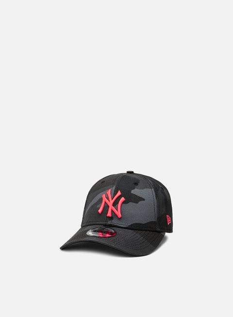New Era Camo Essential 9Forty Strapback NY Yankees