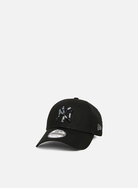 New Era Camo Infill 9Forty Strapback NY Yankees