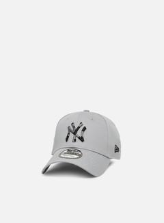 New Era - Camo Infill 9Forty Strapback NY Yankees, Gray