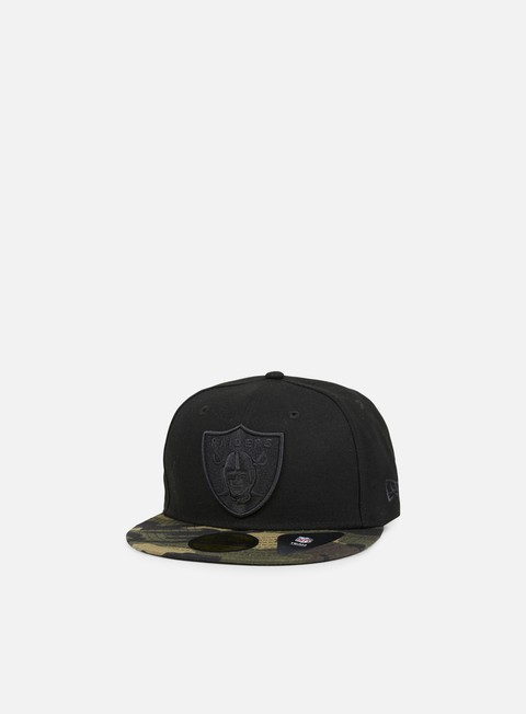 Outlet e Saldi Cappellini True Fitted New Era Camo Oakland Raiders