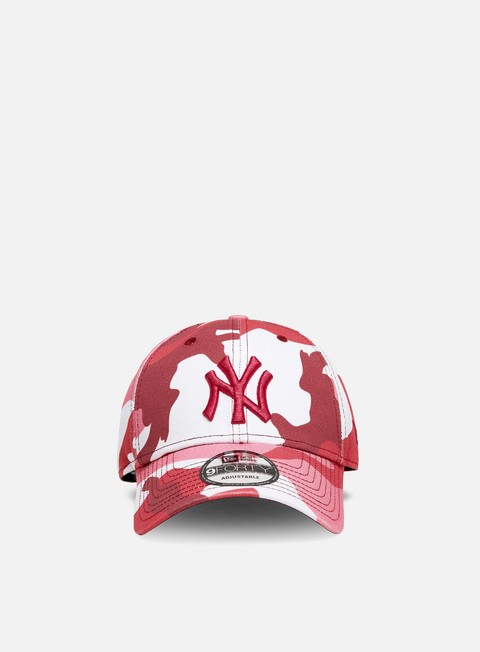Outlet e Saldi Cappellini con visiera New Era Camo Pack 9Forty Strapback NY Yankees