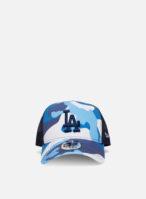 New Era Camo Pack Trucker LA Dodgers
