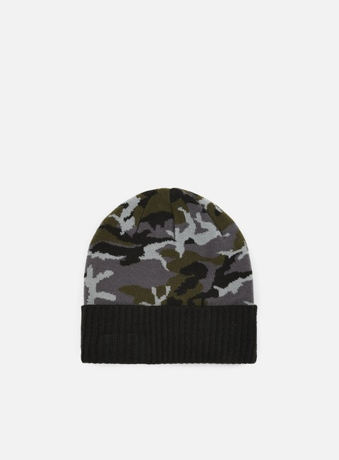 cappellini new era camo ribbed cuff beanie black camo