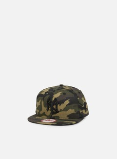 New Era - Camo Snapback NY Yankees, Woodland Camo