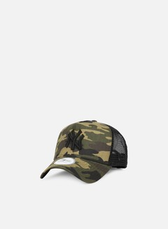 New Era - Camo Trucker NY Yankees, Woodland Camo 1