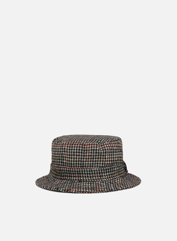 New Era Check Bucket Hat