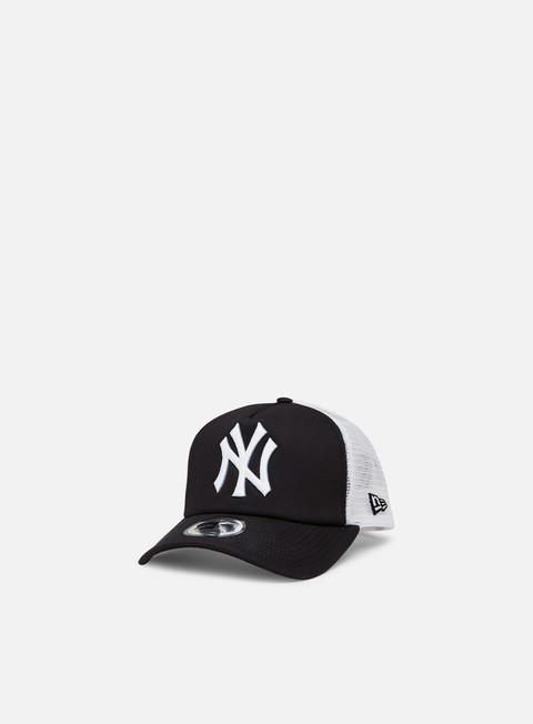 cappellini new era clean trucker ny yankees navy white