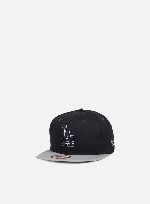 cappellini new era contrast seasonal snapback la dodgers navy grey