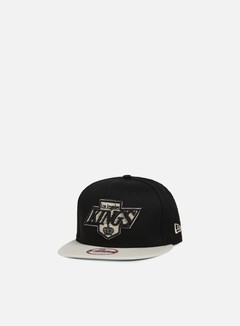 New Era - Contrast Seasonal Snapback LA Kings, Black/Stone 1
