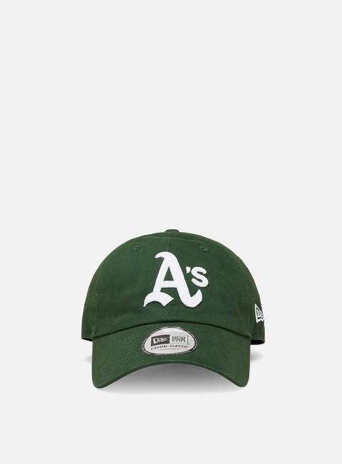 Cappellini con visiera New Era Coops Casual Classic 9Twenty Cap Oakland Athletics
