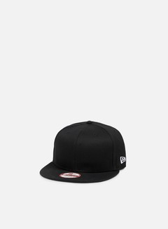 New Era - Cotton Snapback, Black