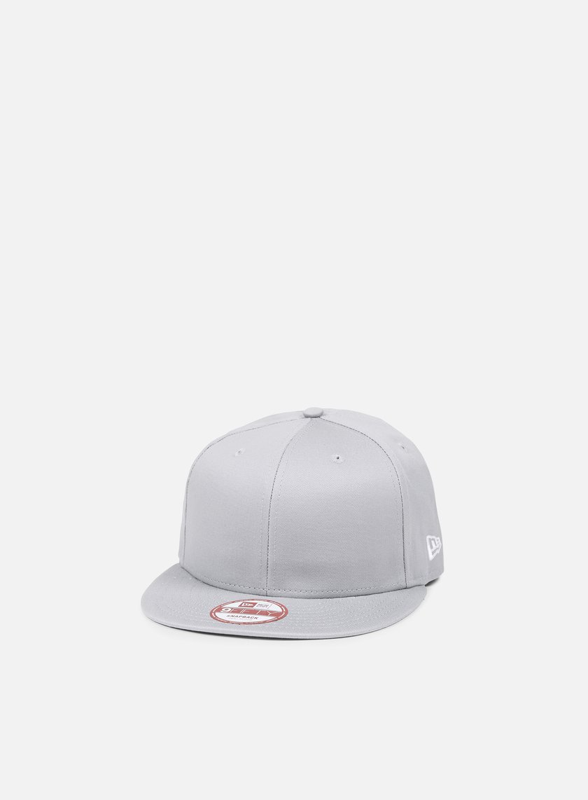 New Era - Cotton Snapback, Grey