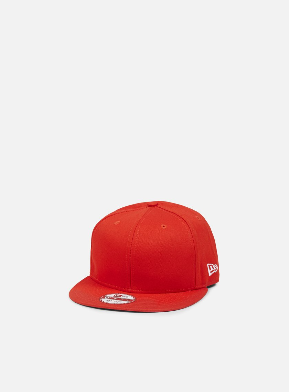 New Era - Cotton Snapback, Hot Red