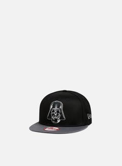 New Era - Dart Vader Snapback, Black/Grey Heather 1