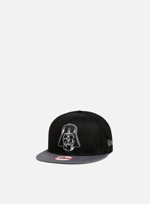 cappellini new era dart vader snapback black grey heather