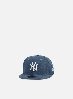 New Era - Denim Essential Snapback NY Yankees, Light Royal 1