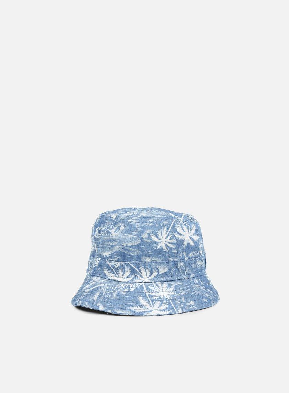 New Era - Denim Palm Bucket Hat, Denim