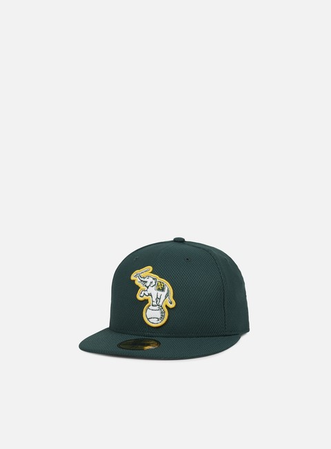 Outlet e Saldi Cappellini True Fitted New Era Diamond Era Authentic Oakland Athletics