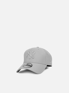 New Era - Diamond Era Stretch 39Thirty NY Yankees, Grey 1