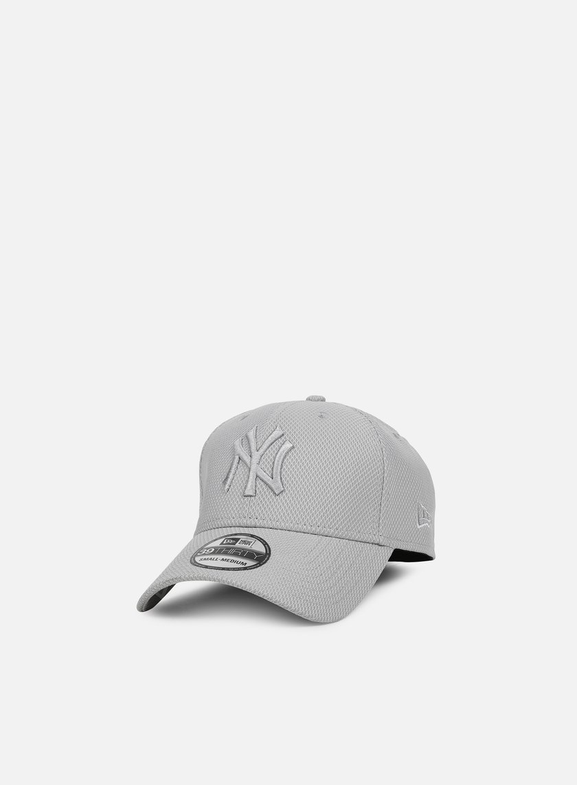 New Era - Diamond Era Stretch 39Thirty NY Yankees, Grey