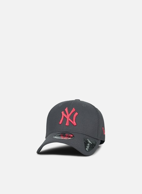 cappellini new era diamond pop 39thirty ny yankees grey heather lava red