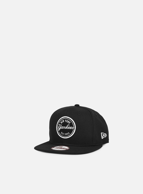 cappellini new era emblem mlb patch snapback ny yankees black