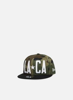 New Era - Emea Star Code Snapback Los Angeles, Woodland Camo/Black 1