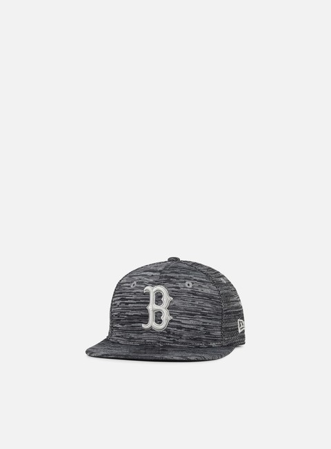 cappellini new era engineered fit 9fifty snapback boston red sox grey black