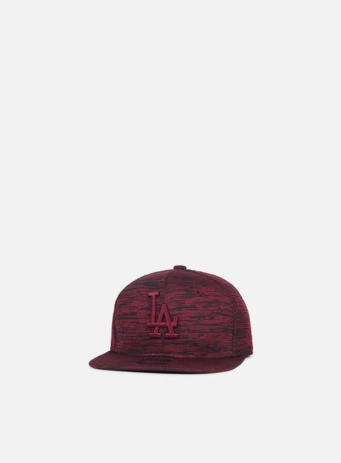 cappellini new era engineered fit 9fifty snapback la dodgers maroon black