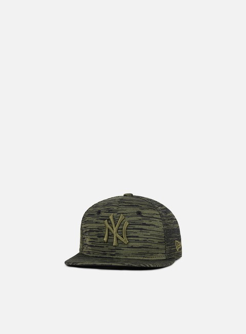 cappellini new era engineered fit 9fifty snapback ny yankees olive black