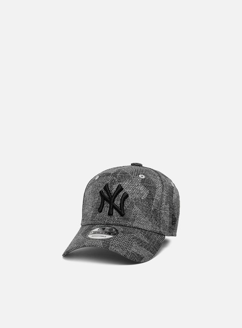 Outlet e Saldi Cappellini Visiera Curva New Era Engineered Fit 9Forty Strapback NY Yankees