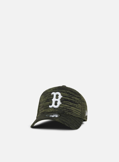 Outlet e Saldi Cappellini Visiera Curva New Era Engineered Fit Snapback Boston Red Sox