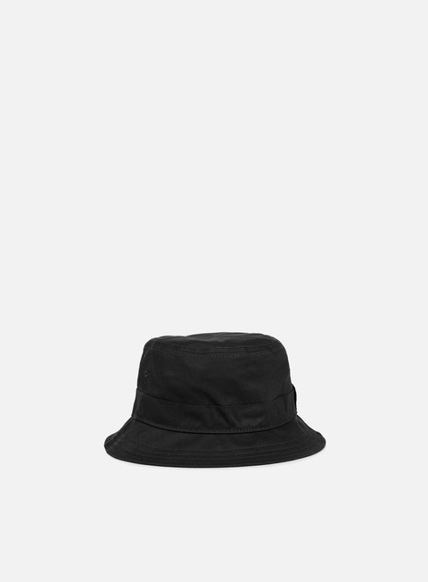 cappellini new era essential bucket hat black black