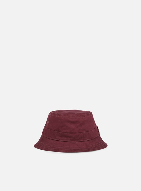 cappellini new era essential bucket hat maroon