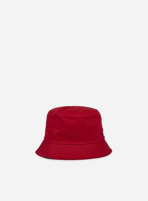cappellini new era essential bucket hat scarlet