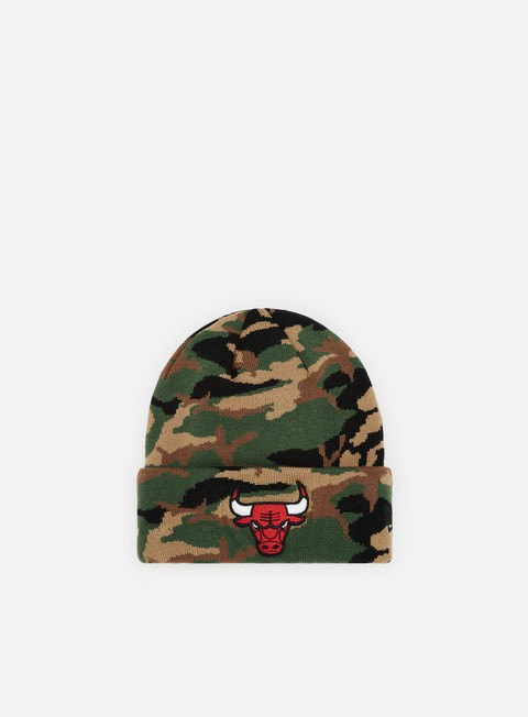 Cuffie New Era Essential Camo Knit Chicago Bulls