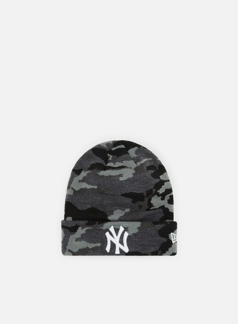 Cuffie New Era Essential Camo Knit NY Yankees
