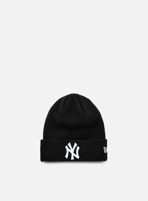 cappellini new era essential cuff beanie ny yankees black