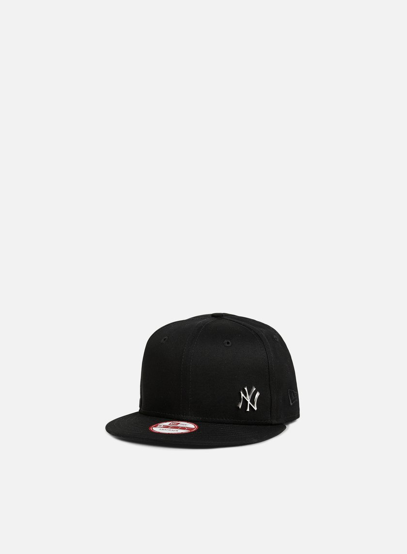 New Era - Flawless Metal Snapback NY Yankees, Black