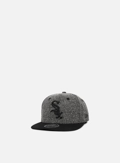 New Era - Flecked Crown Snapback Chicago White Sox, Grey/Black 1